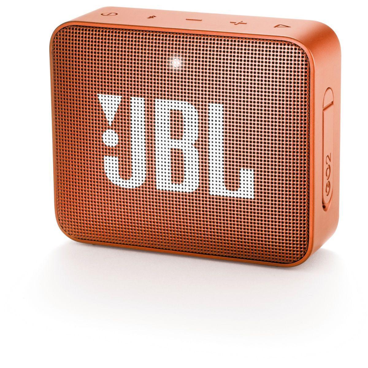 Enceinte bluetooth jbl go 2 orange - livraison offerte : code livdom (photo)