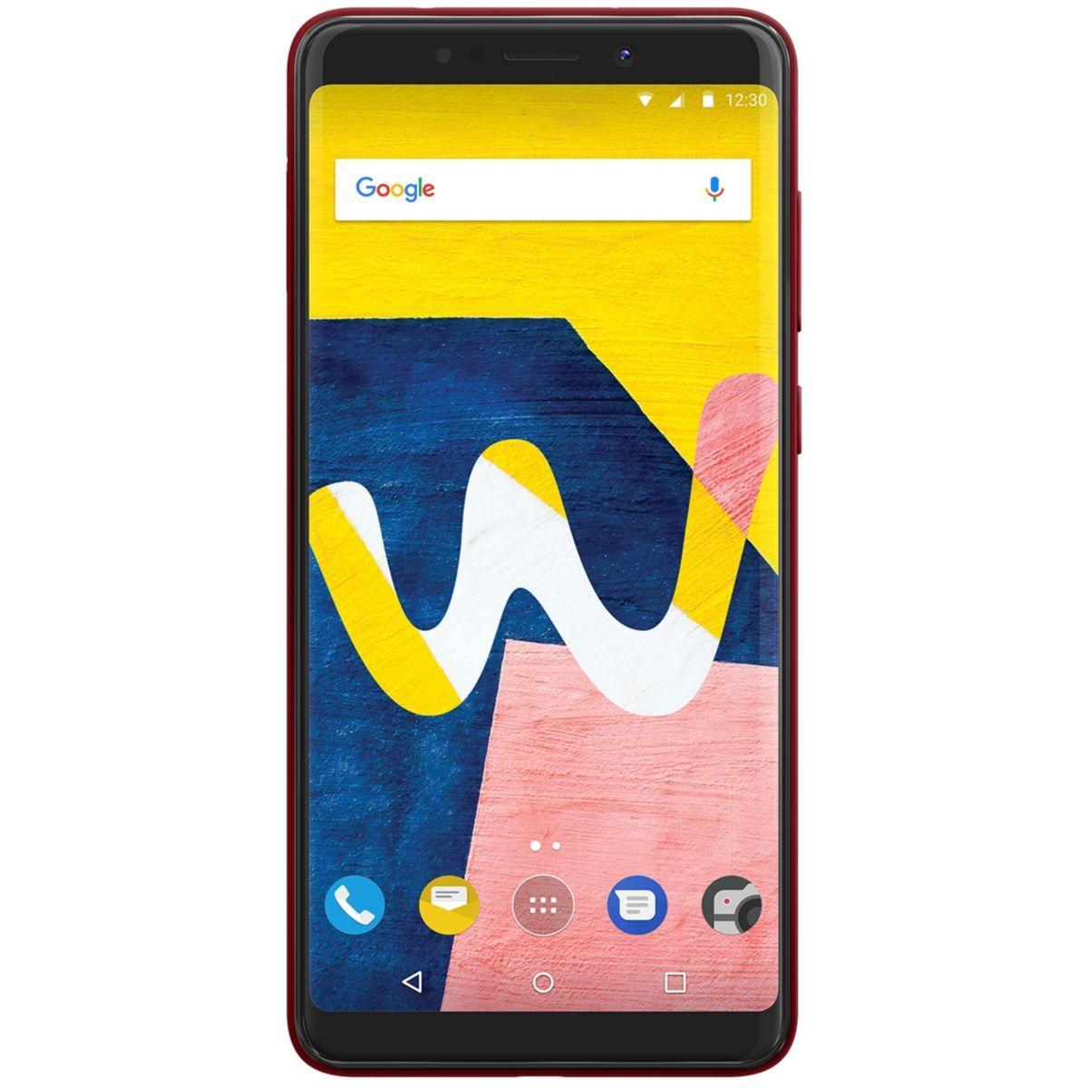 Smartphone wiko view lite 4g cherry red - 5% de remise imm�diate avec le code : fete5