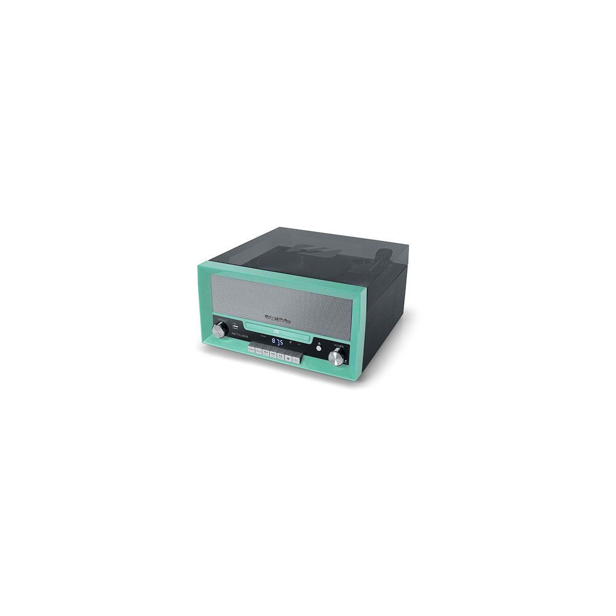 Platine muse vinyle mt-110b vert - 20% de remise imm�diate avec le code : fete20 (photo)