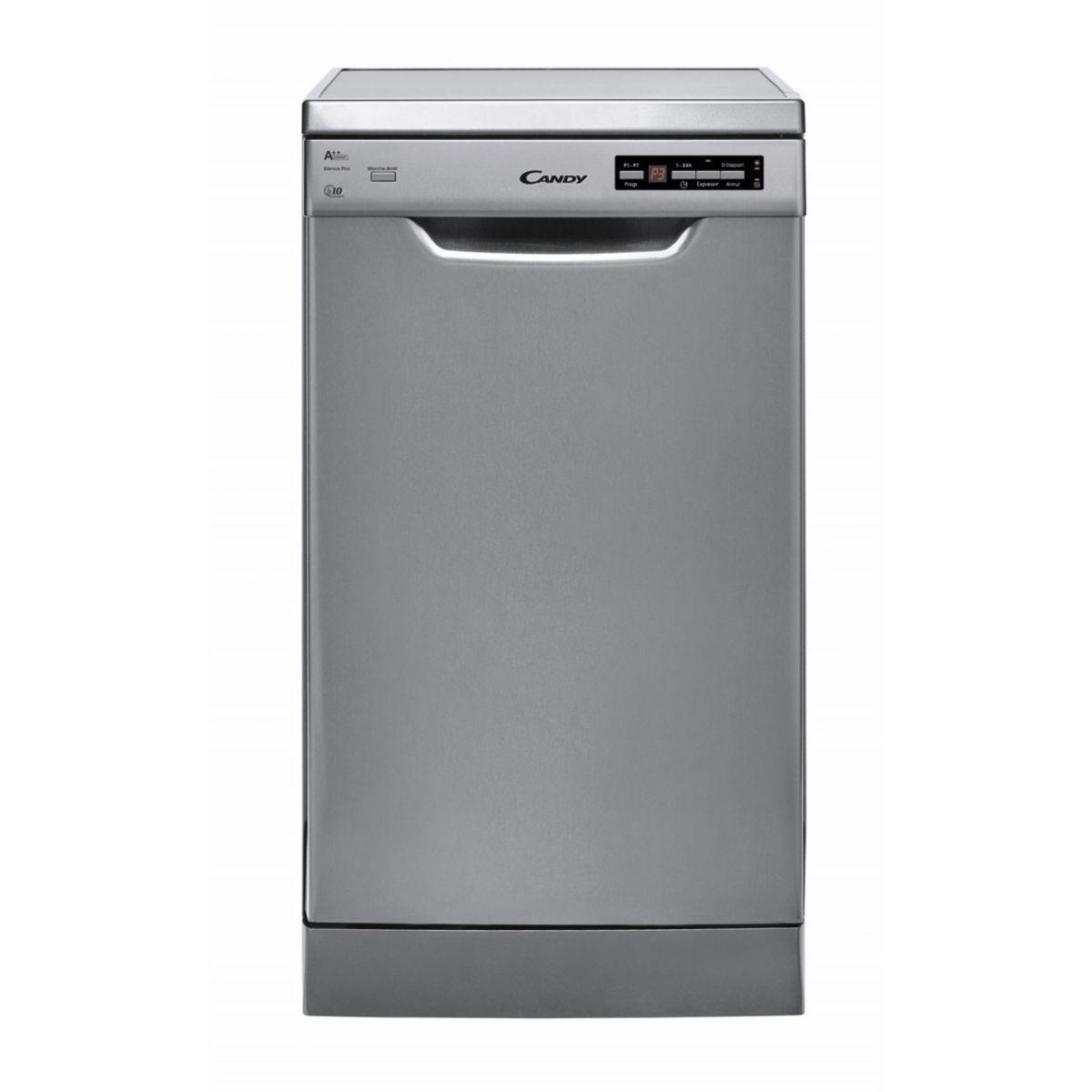 Lave vaisselle 45 cm candy cdp 2d1047x-47 - livraison offerte : code livp (photo)