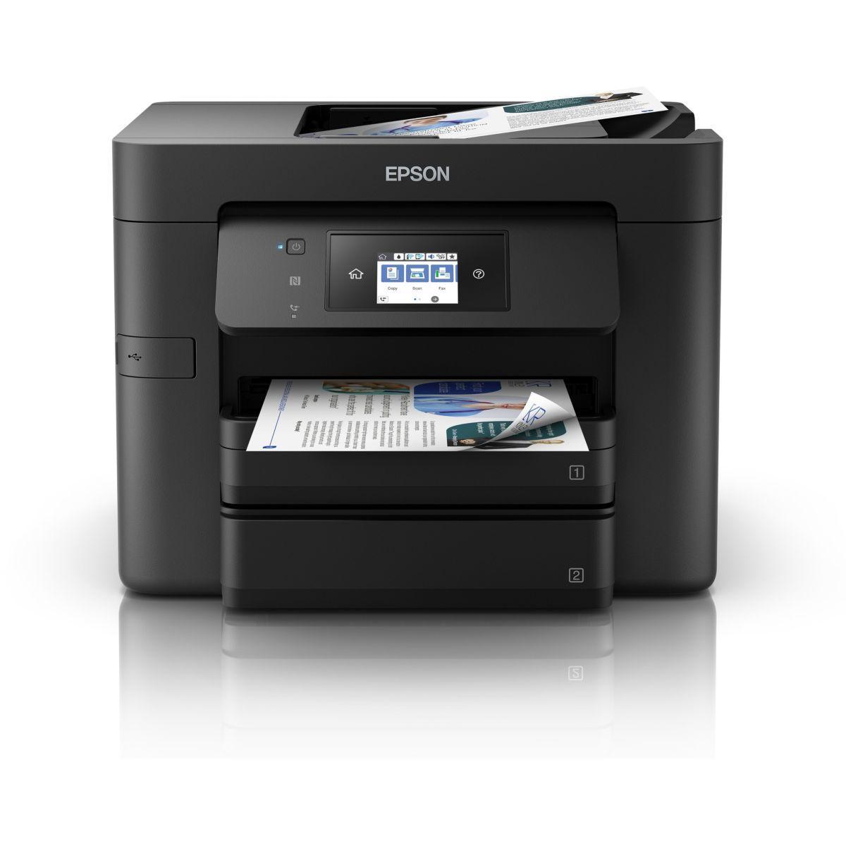 Imprimante jet d'encre epson wf-4730dtwf pro (photo)