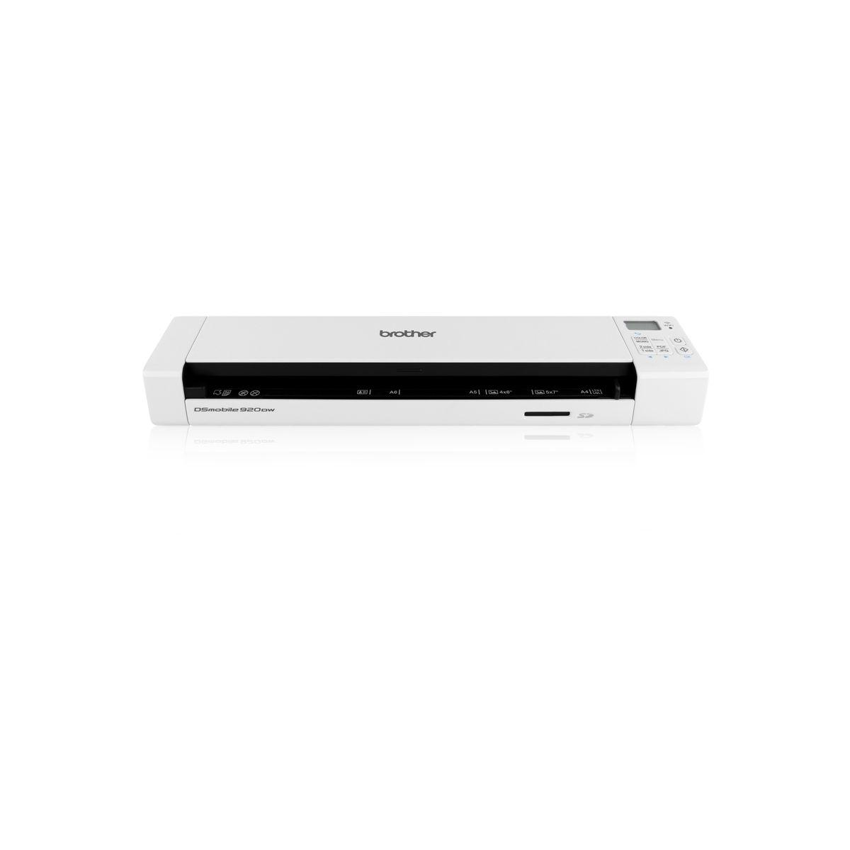 Scanner portable brother ds-920dw (photo)