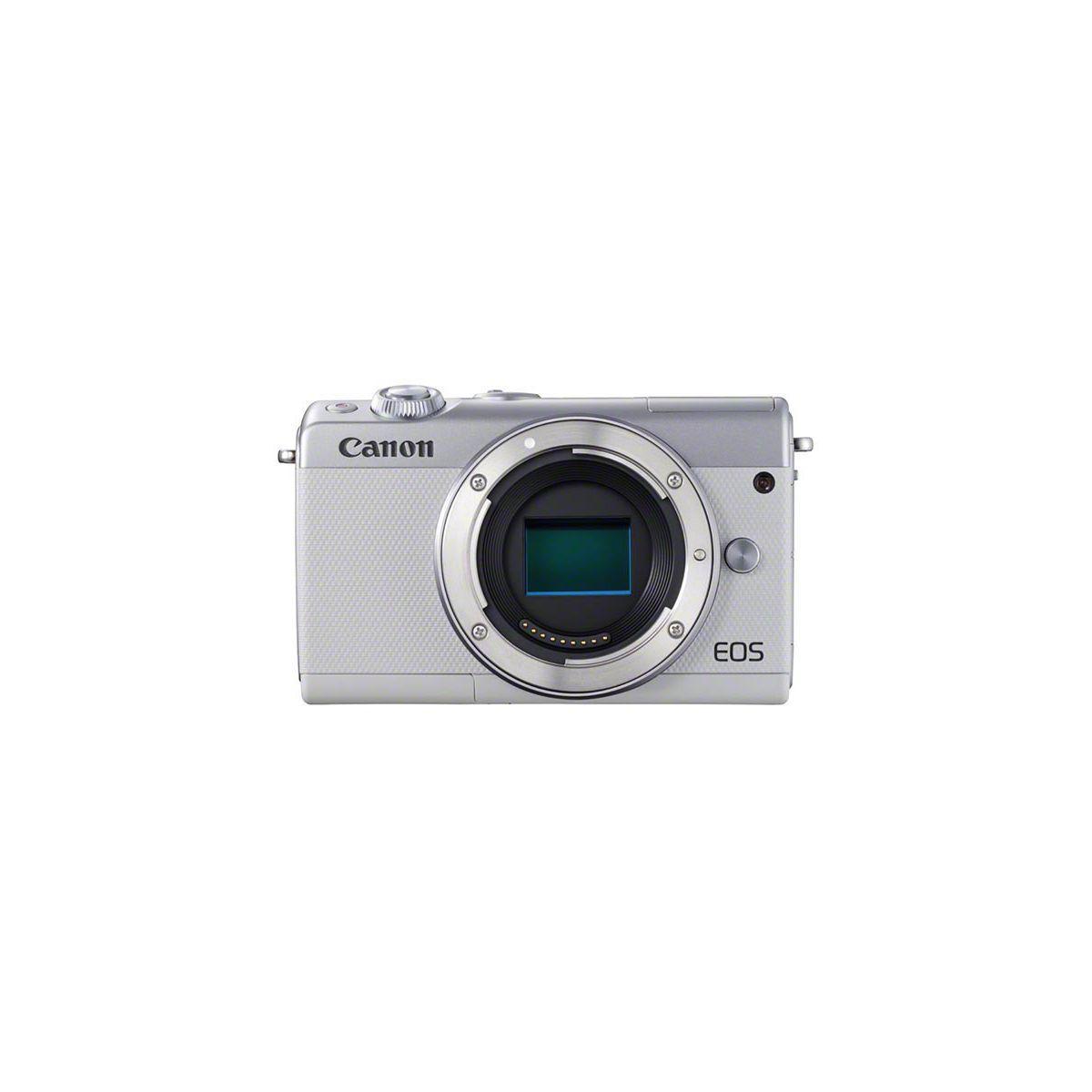 Appareil photo hybride canon eos m100 gris - 5% de remise imm�diate avec le code : deal5