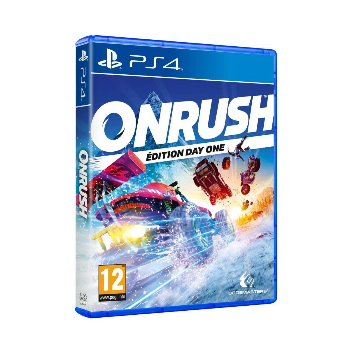 Jeu ps4 koch media onrush (photo)