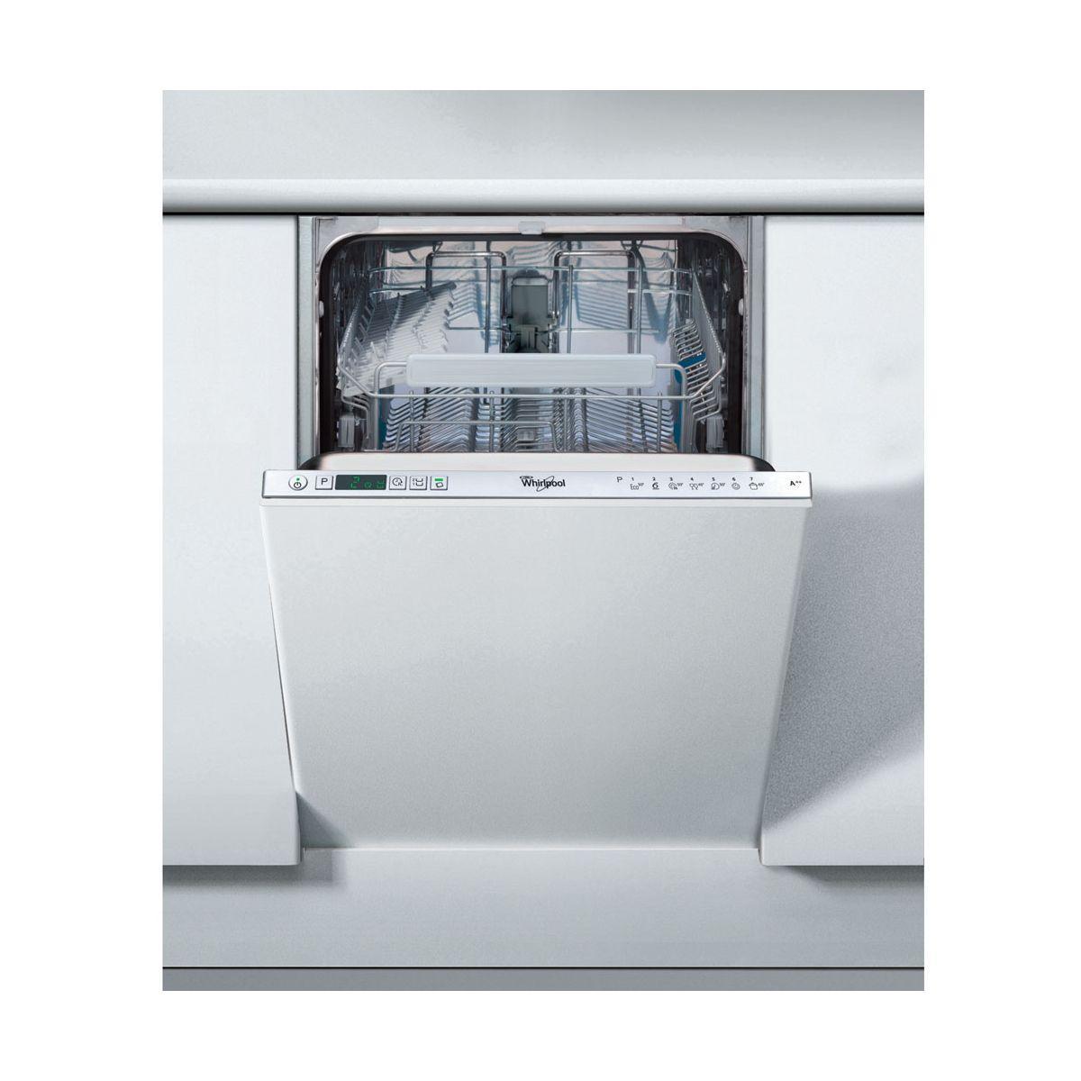 Lave vaisselle tout int�grable 45 cm whirlpool adg402 - 2% de remise imm�diate avec le code : gam2