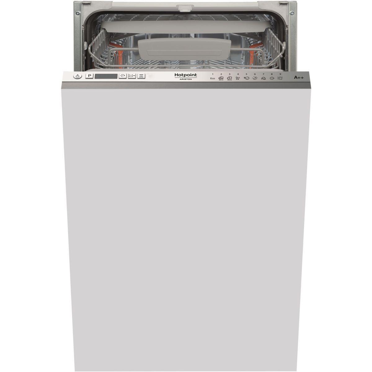 Lave vaisselle tout int�grable hotpoint lstf9m124ceu - livraison offerte : code livp