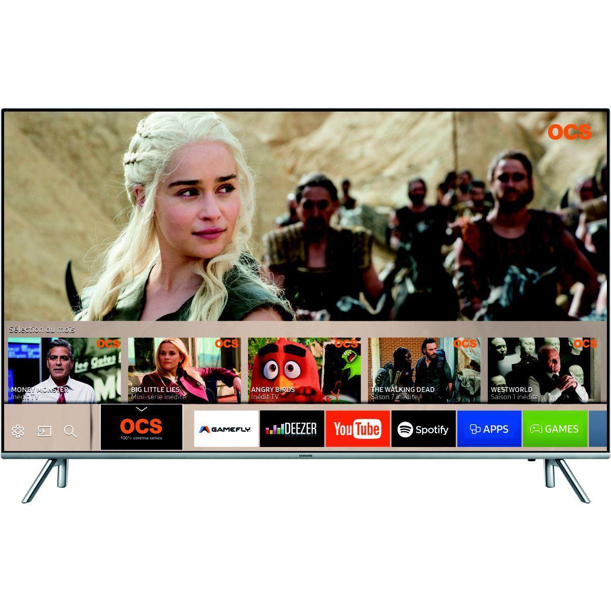 Pack promo tv led samsung ue75mu7005 premium uhd + barre de son samsung hw-n400