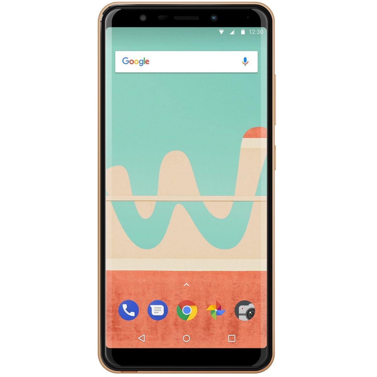 Smartphone wiko view go gold - 5% de remise imm�diate avec le code : fete5