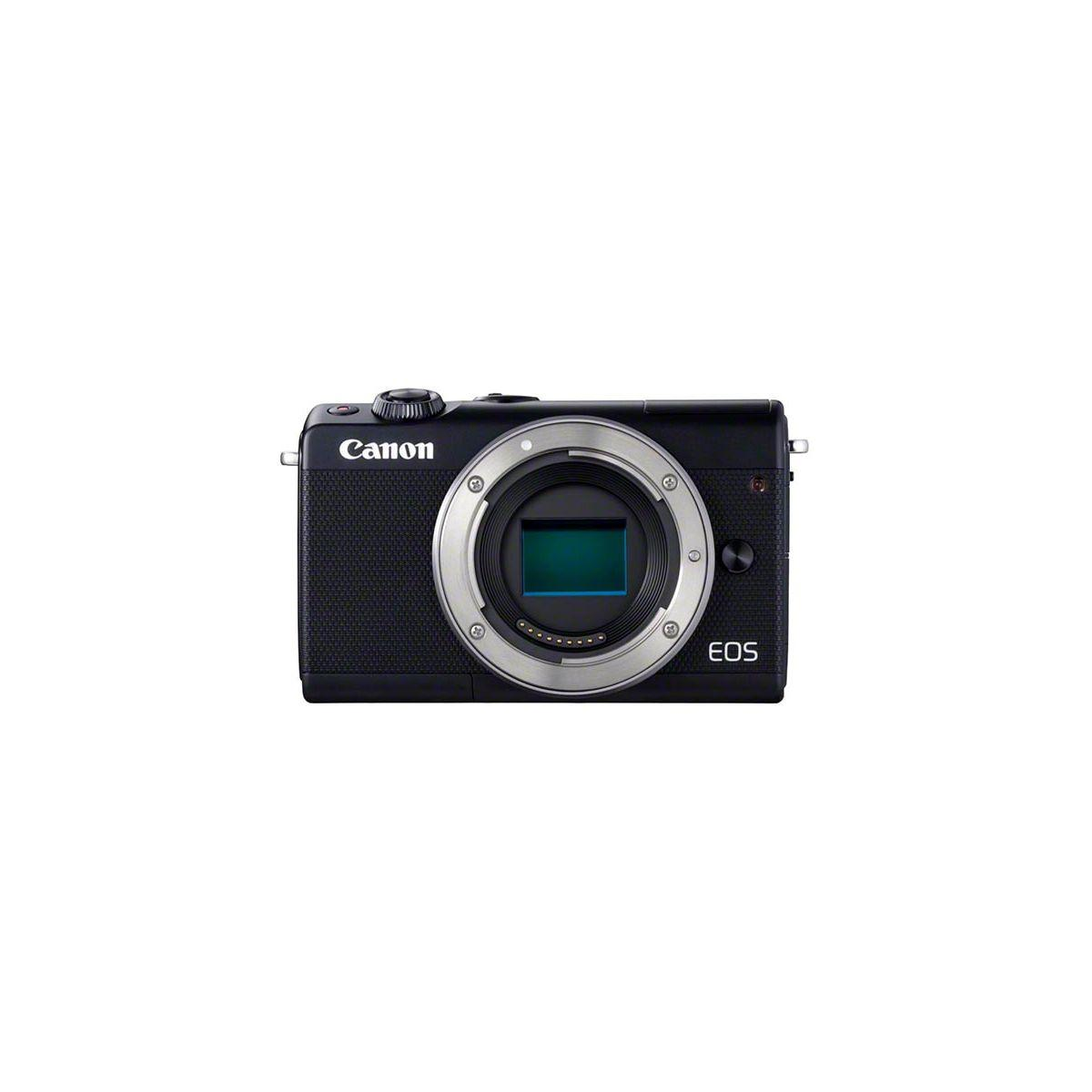 Appareil photo hybride canon eos m100 noir - 7% de remise imm�diate avec le code : fete7