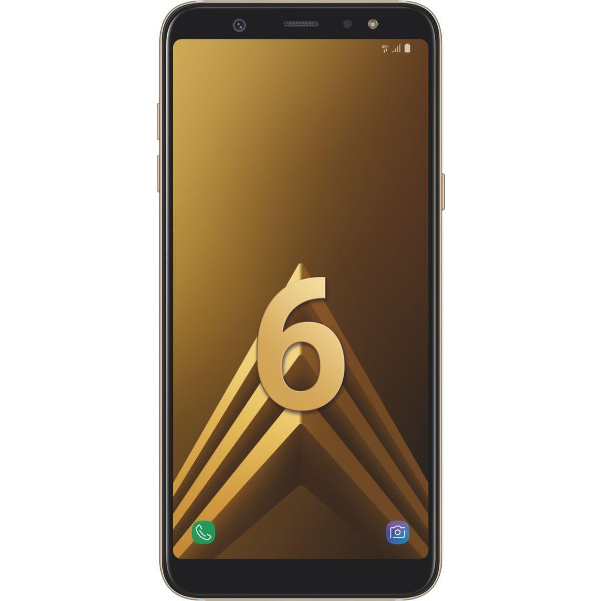 Smartphone samsung galaxy a6+ gold