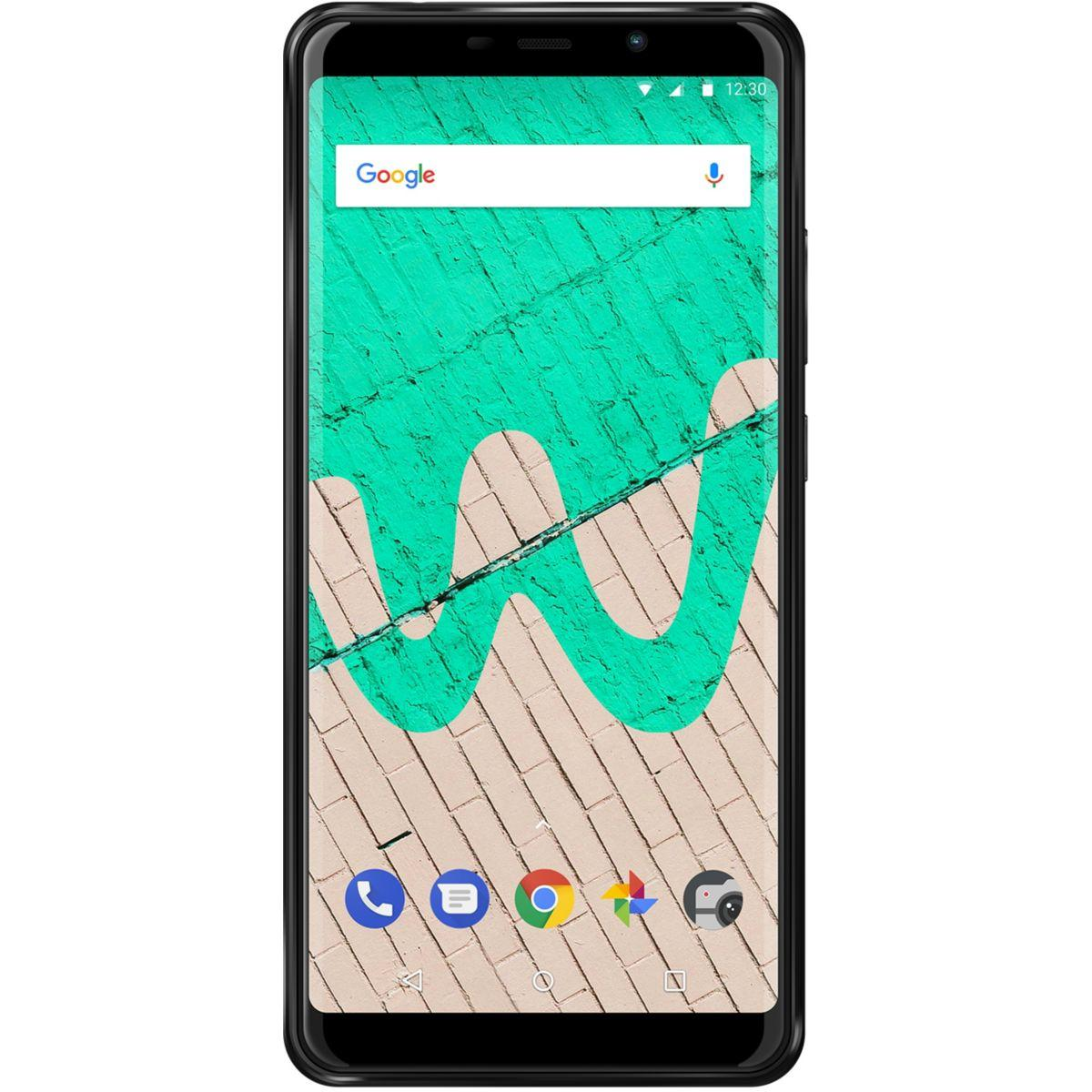 Smartphone wiko view max anthracite