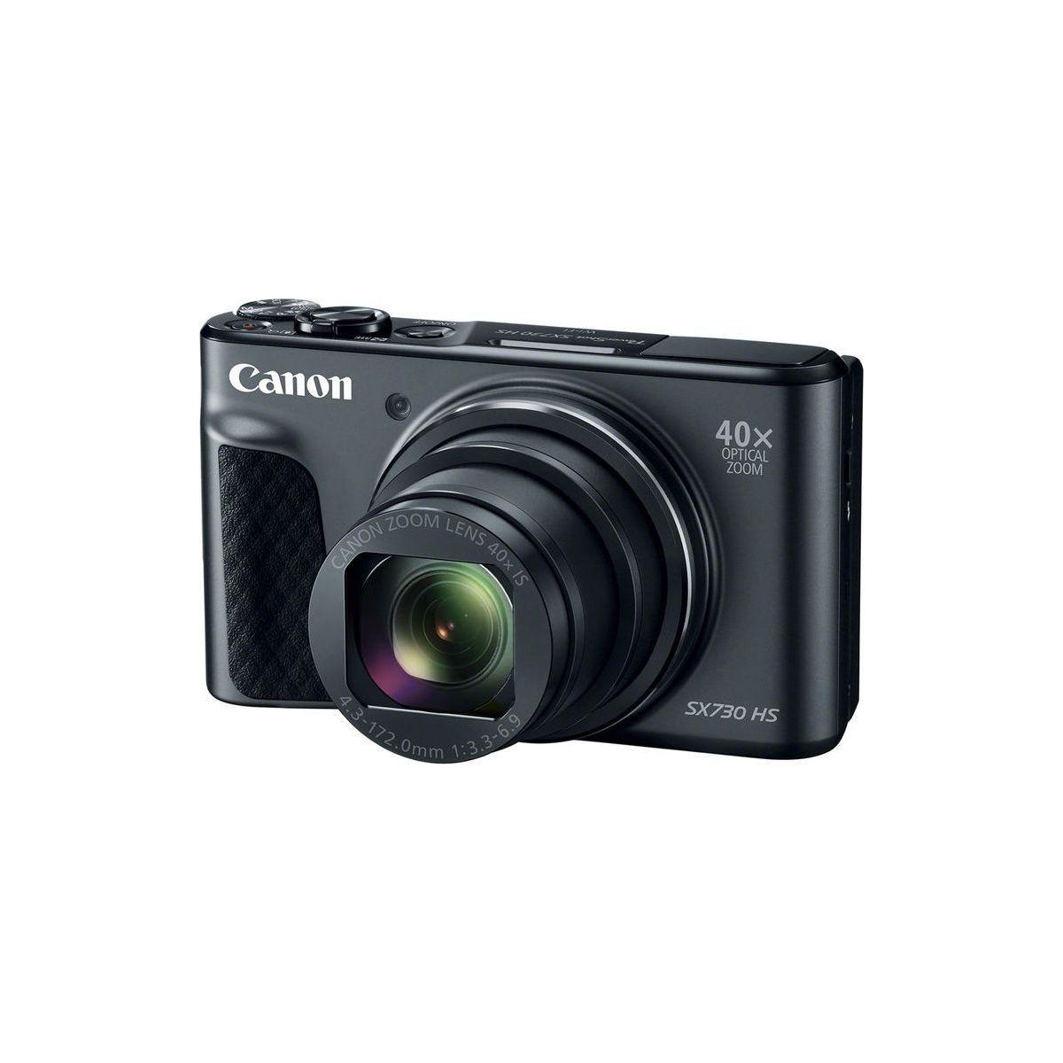 Appareil photo compact canon powershot sx730 hs noir (photo)