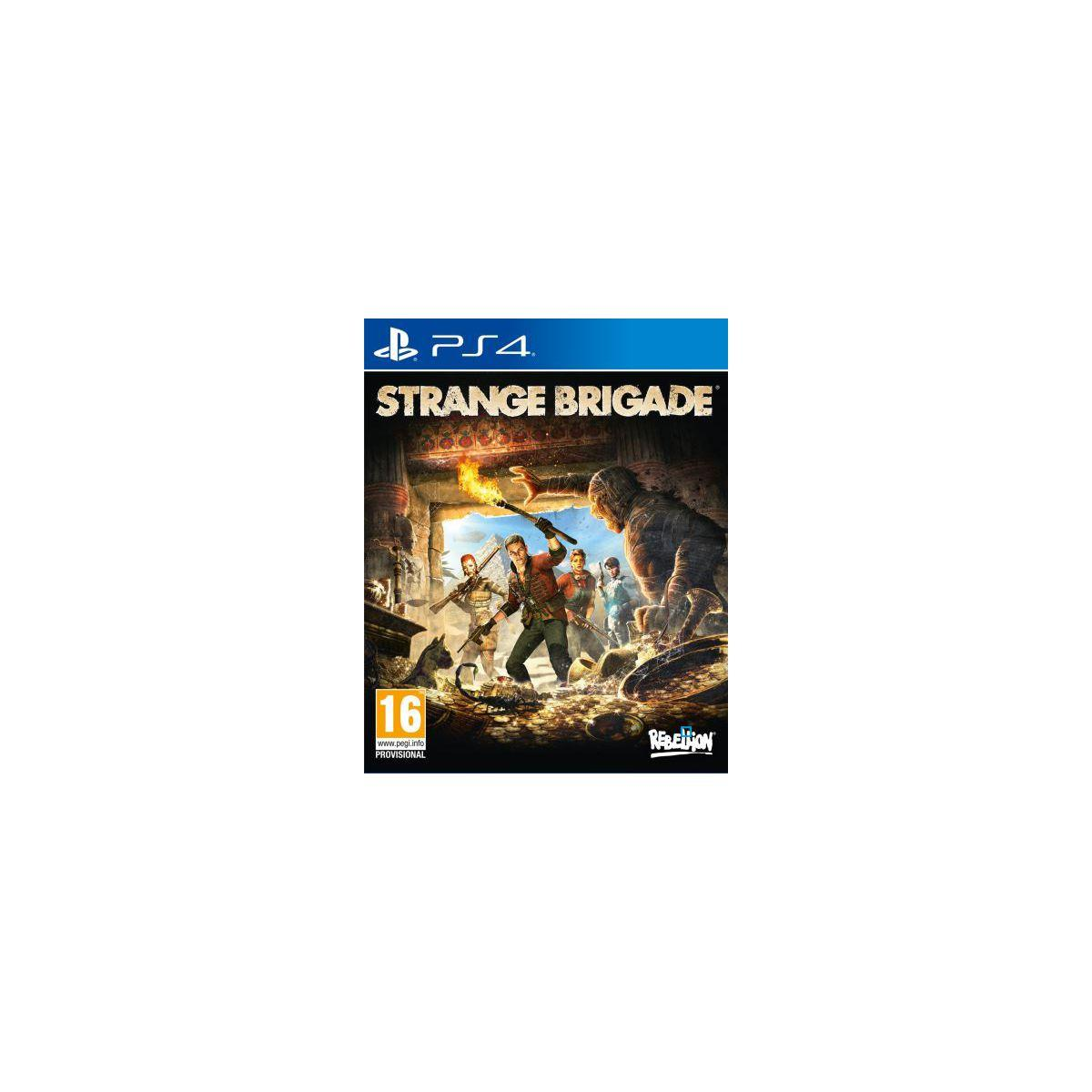Jeu ps4 just for games strange brigade (photo)