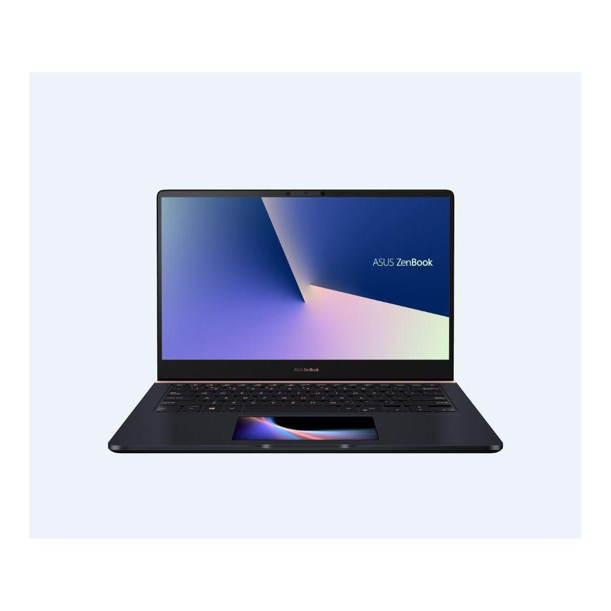 Ordinateur portable asus zenbook pro 14 screenpad i5 (photo)