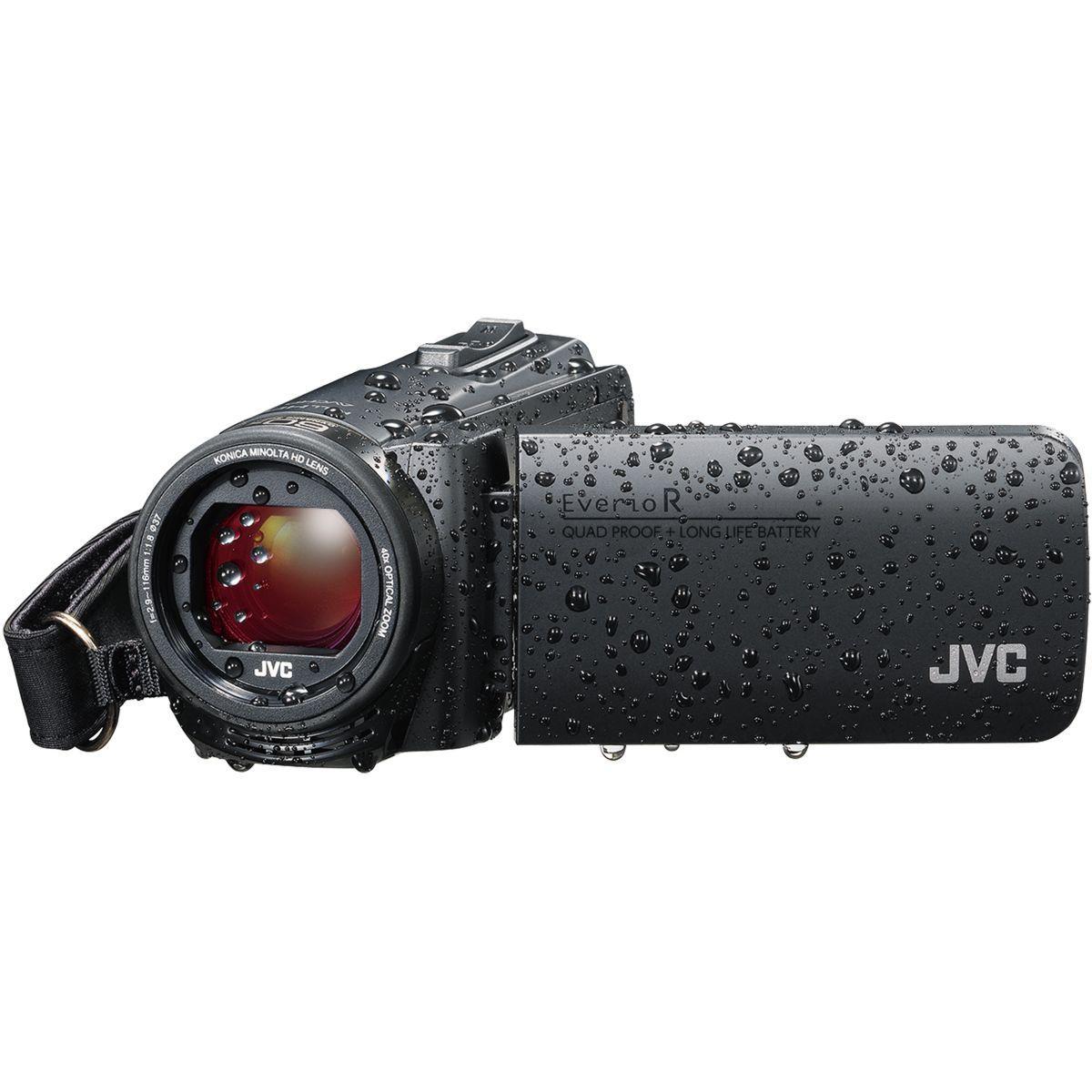 Cam?scope jvc gz-r495 noir + sd 16go - 10% de remise imm?diate...