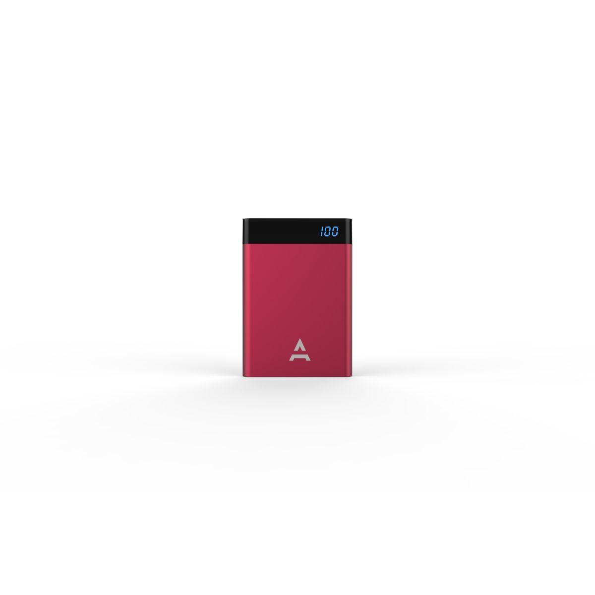Batterie externe adeqwat 4000 mah bordeau (photo)