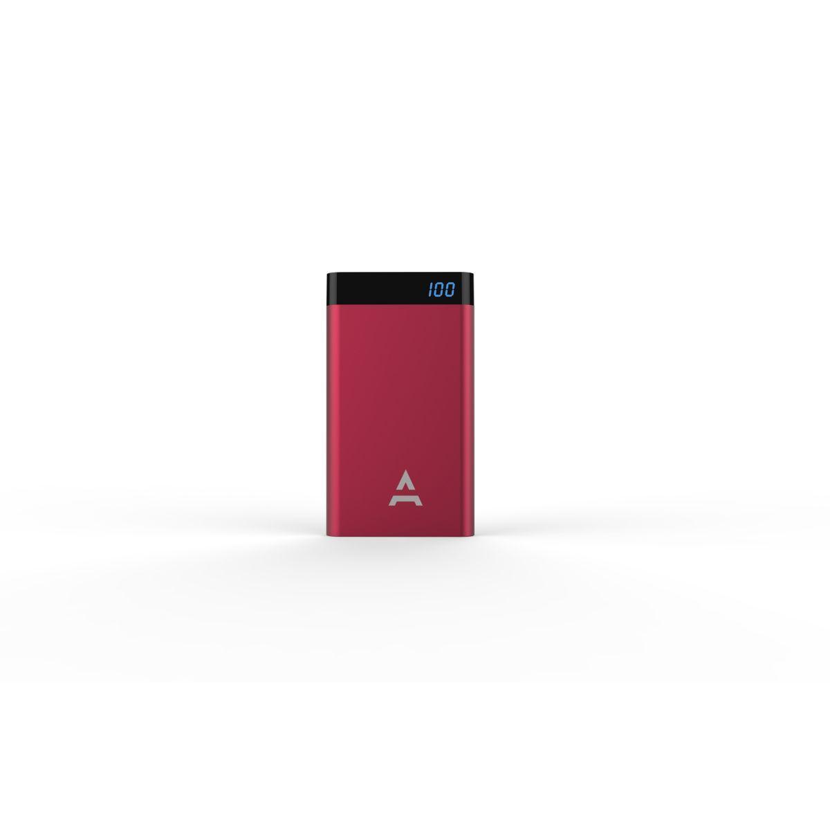 Batterie externe adeqwat 8000 mah bordeau - livraison offerte : code liv (photo)
