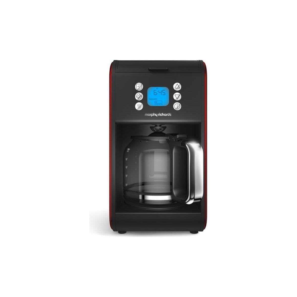 Cafeti�re programmable morphy richards accent refresh rouge - 10% de remise imm�diate avec le code : deal10 (photo)