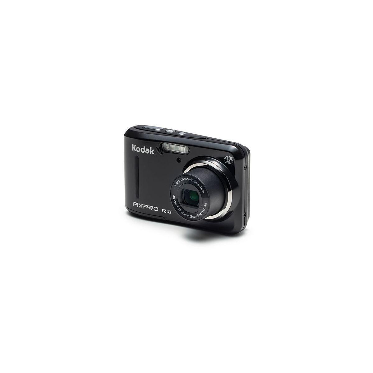 Appareil photo compact kodak pixpro fz43 noir - 2% de remise imm�diate avec le code : school2 (photo)