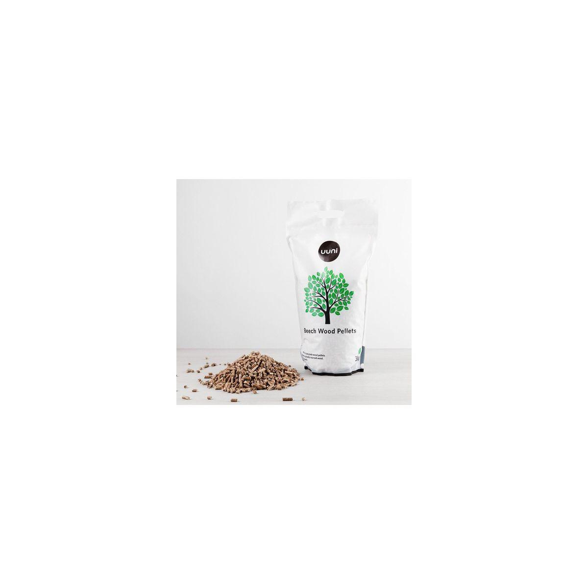 Granul�s de bois uuni 3 kg granul�s de bois de hetre (photo)