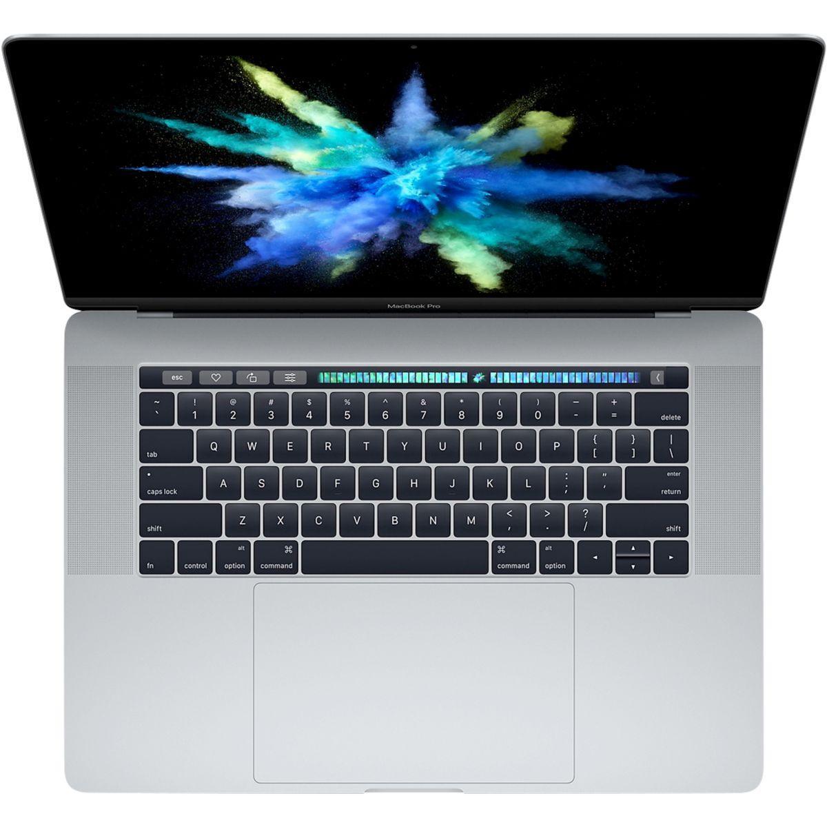 Ordinateur apple macbook pro new 15p touch bar i7 512go gris s - livraison offerte : code premium (photo)