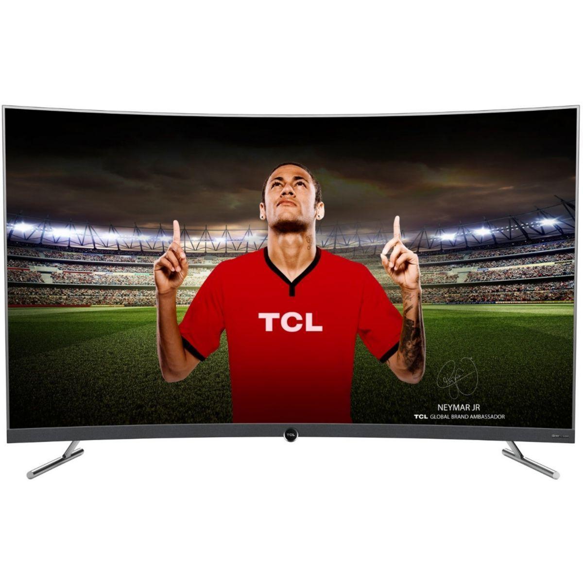Tv led tcl 55dp670 incurve - 2% de remise imm�diate avec le code : deal2