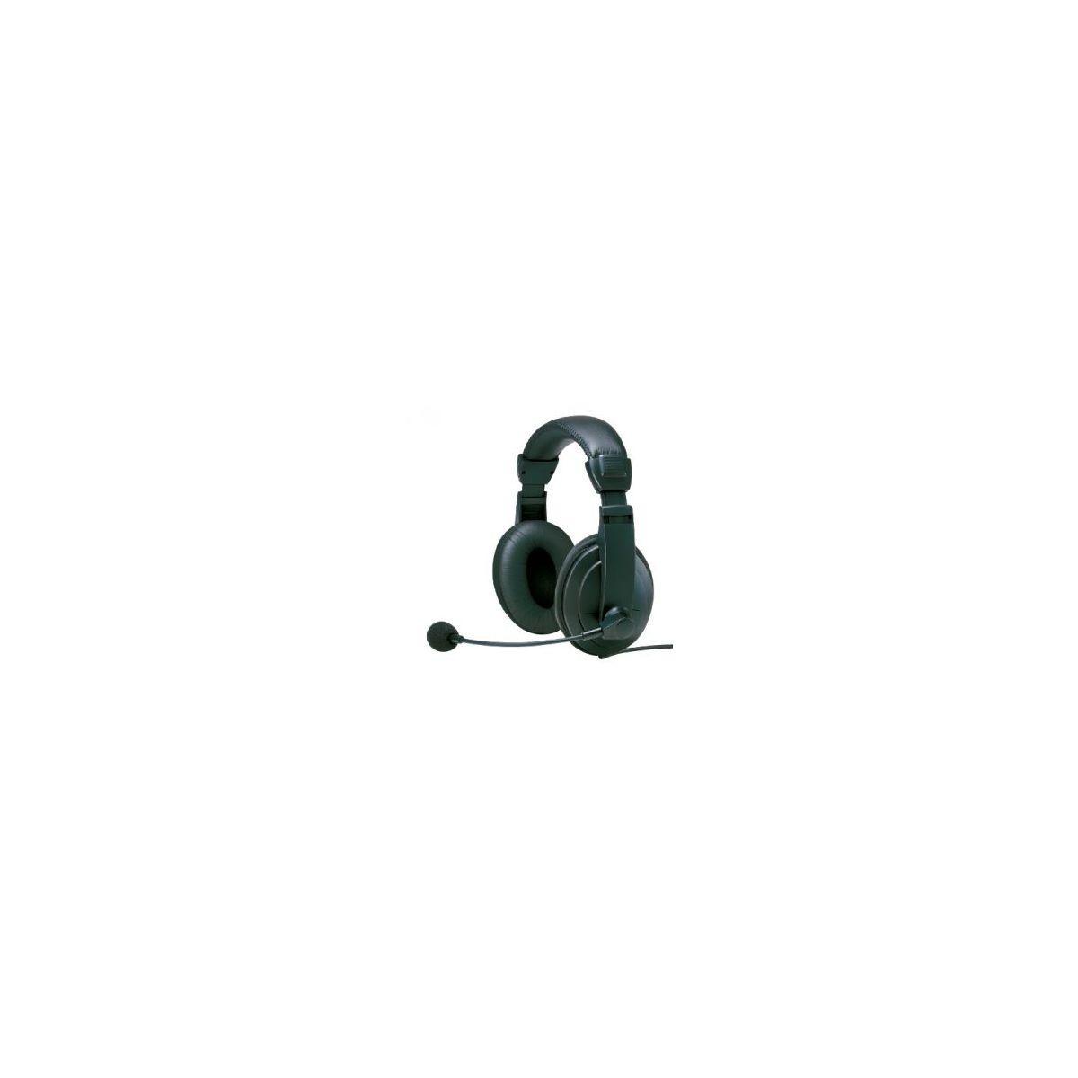 Micro-casque heden micro st�r�o avec microphone - 2% de remise imm�diate avec le code : deal2 (photo)