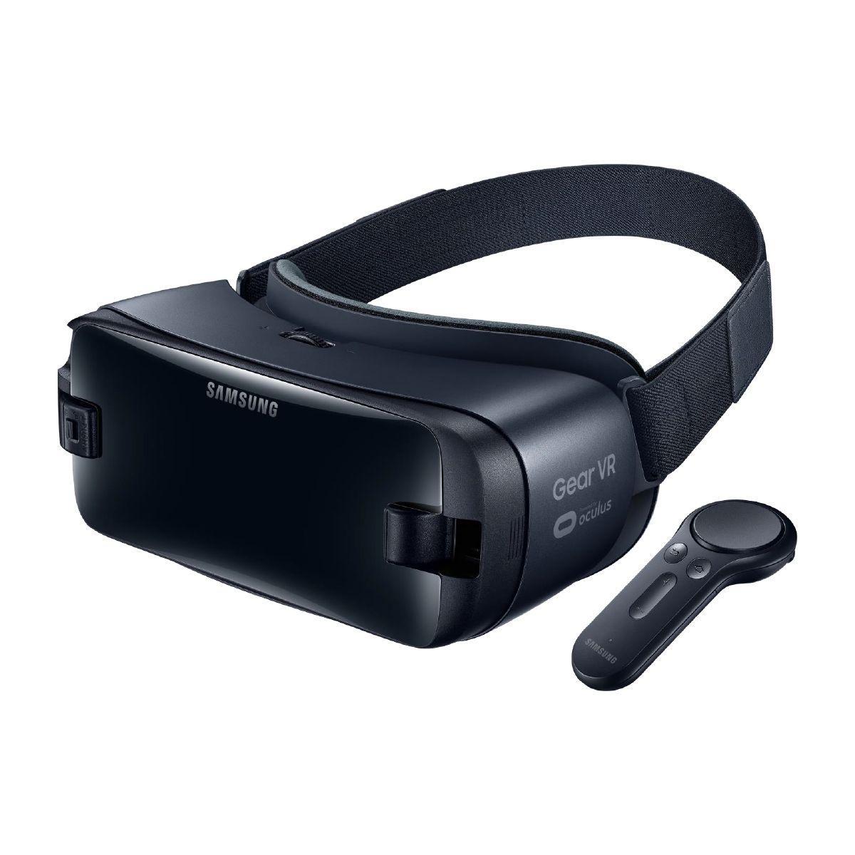 Casque de r�alit� virtuelle samsung gear vr + controleur s6/s7/s8/s9/n8/n9 (photo)