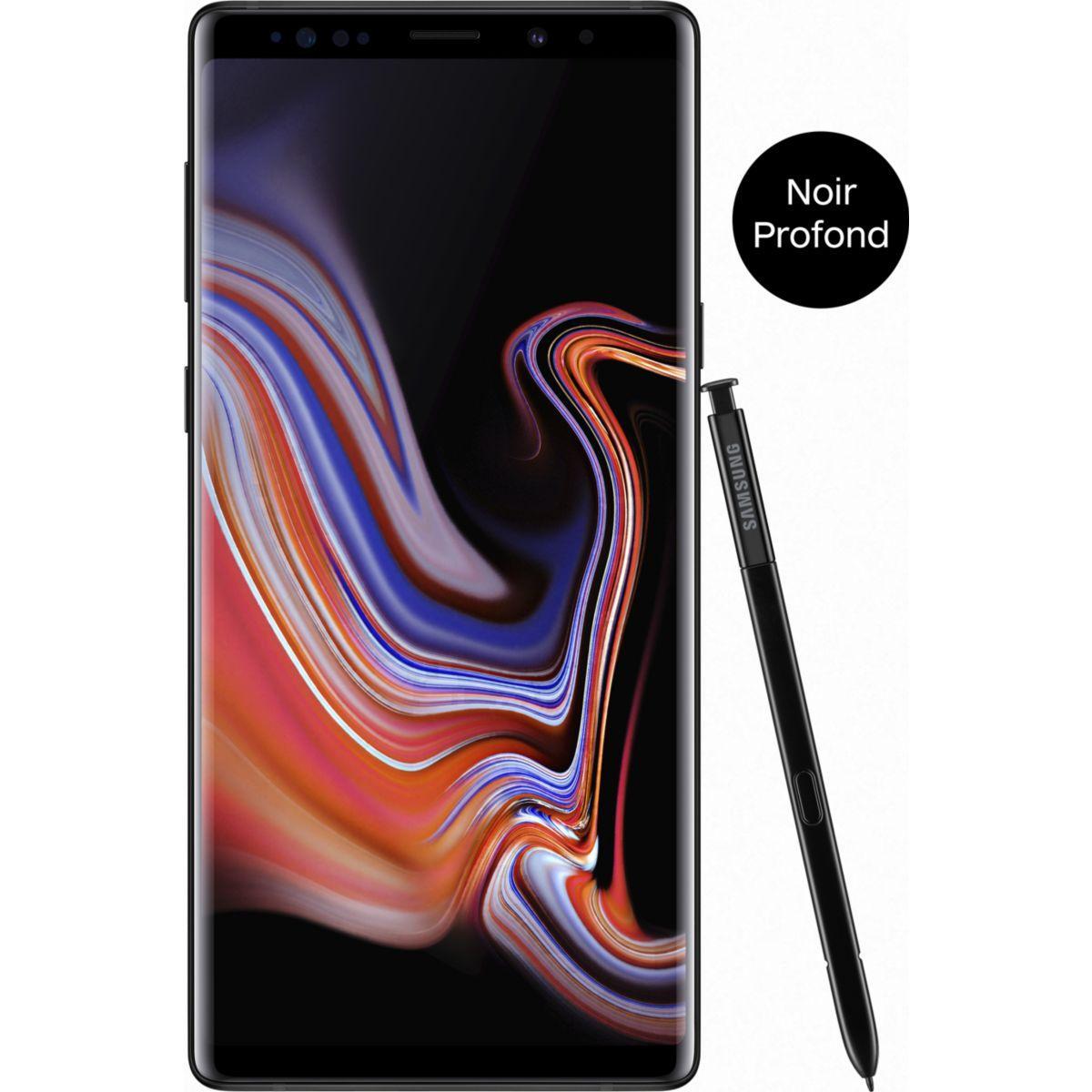 Smartphone samsung galaxy note 9 noir 512go - 2% de remise imm�diate avec le code : deal2