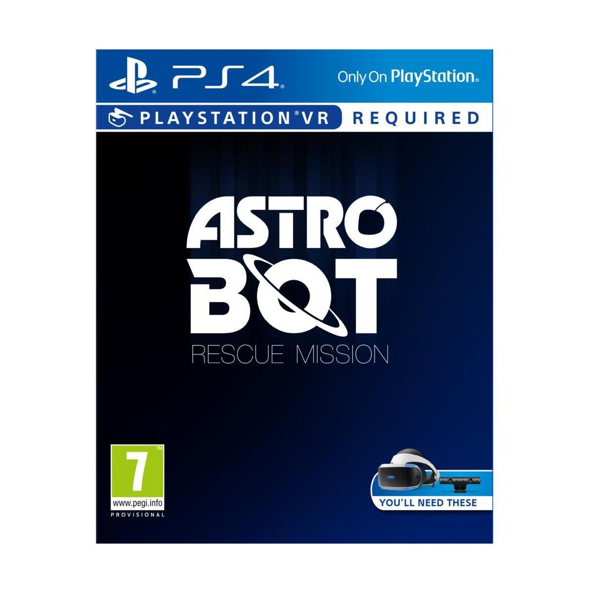 Jeu ps4 sony jeu vr astro bot rescue mission (photo)