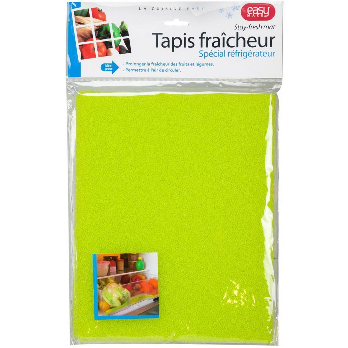 Tapis fra�cheur easy make tapis fraicheur fruits et legumes (photo)