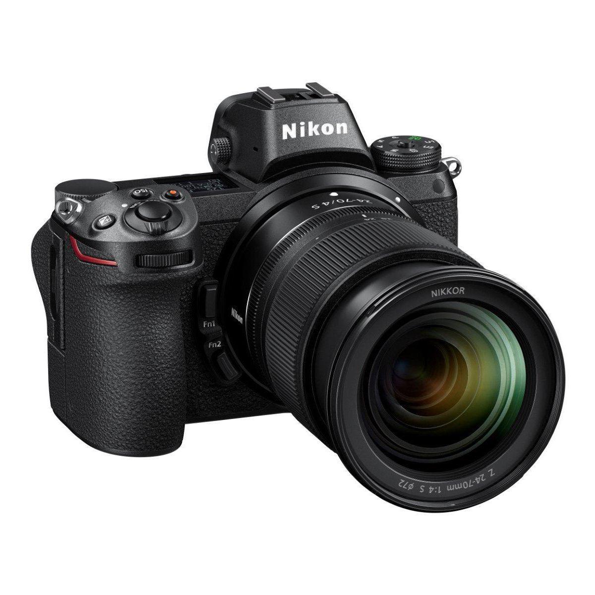Appareil photo hybride nikon z 6 + z 24-70mm f.4 s - 7% de remise imm�diate avec le code : deal7