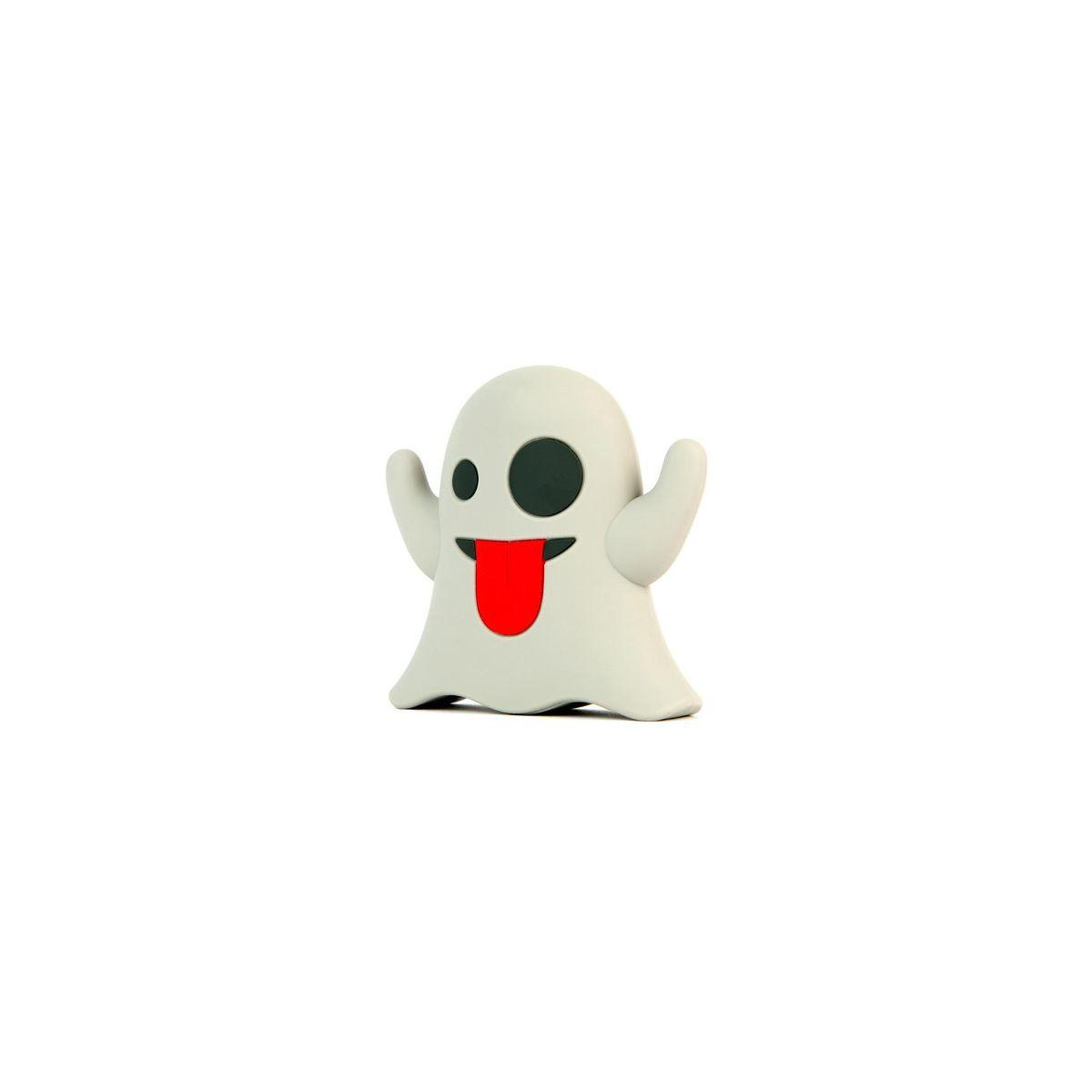 Batterie externe mojipower powerbank 2600 mah emoji fantome - 2% de remise imm�diate avec le code : deal2 (photo)