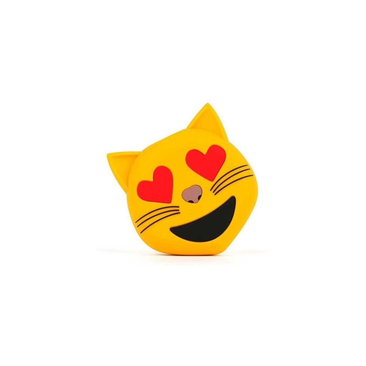 Batterie externe mojipower powerbank 2600 mah emoji chat - 2% de remise imm�diate avec le code : deal2 (photo)