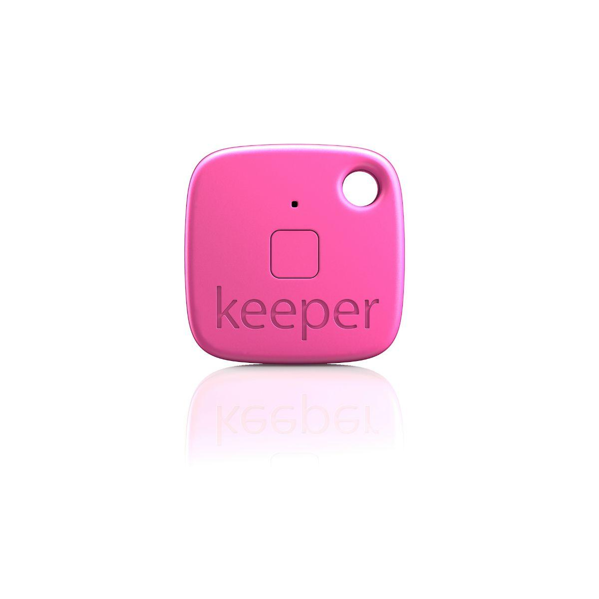 Porte cl� connect� gigaset keeper rose solo (photo)