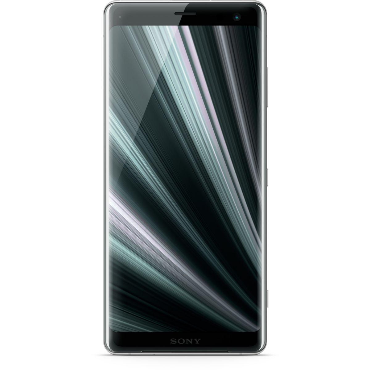 Smartphone sony xperia xz3 silver