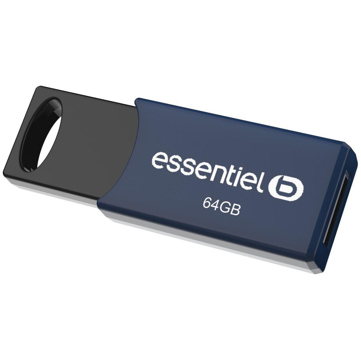 Cl� usb essentielb usb 64gb 2.0 - livraison offerte : code premium (photo)