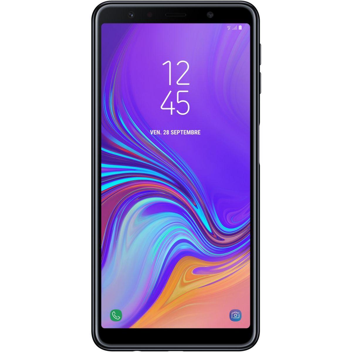 Smartphone samsung galaxy a7 noir - livraison offerte : code liv