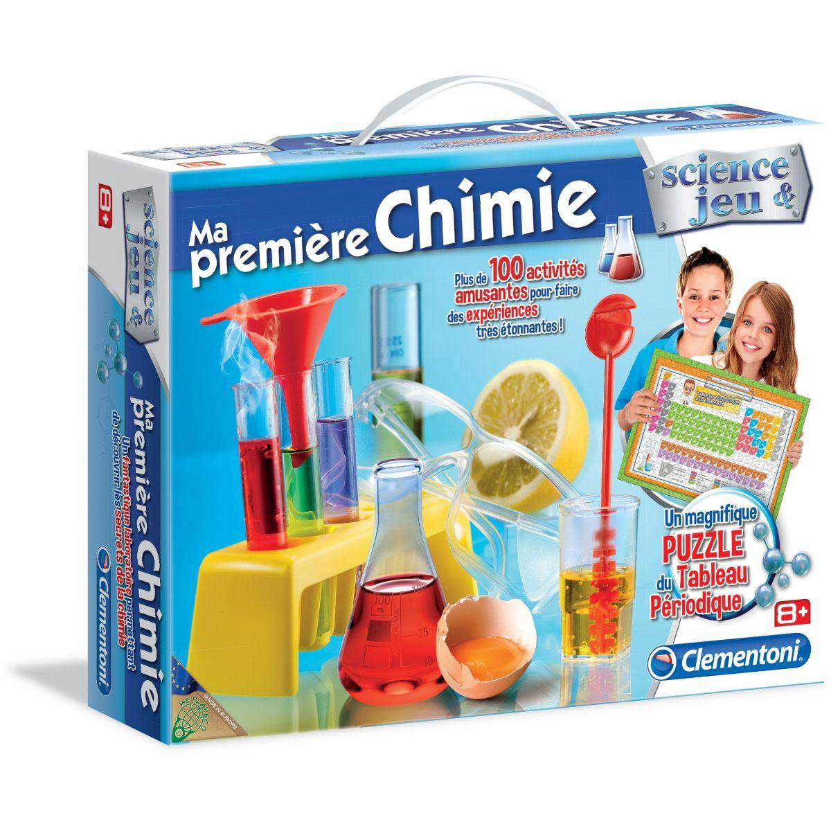 Jeu �ducatif clementoni ma premi�re chimie - 2% de remise imm�diate avec le code : deal2 (photo)