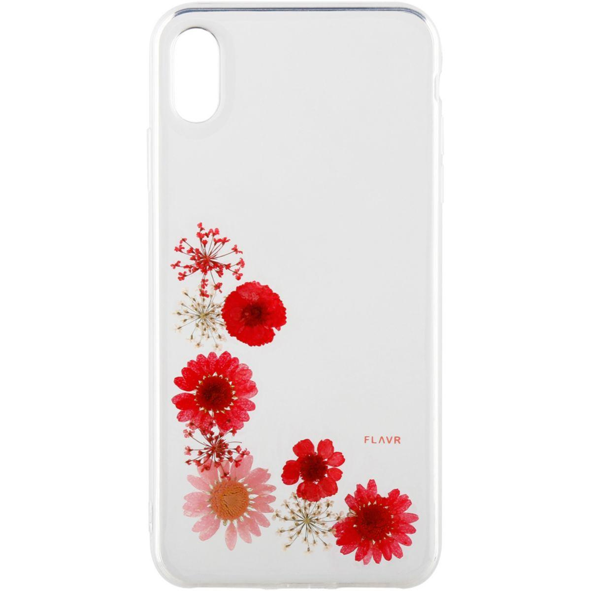 Coque flavr iphone xs max - iplate real flower so