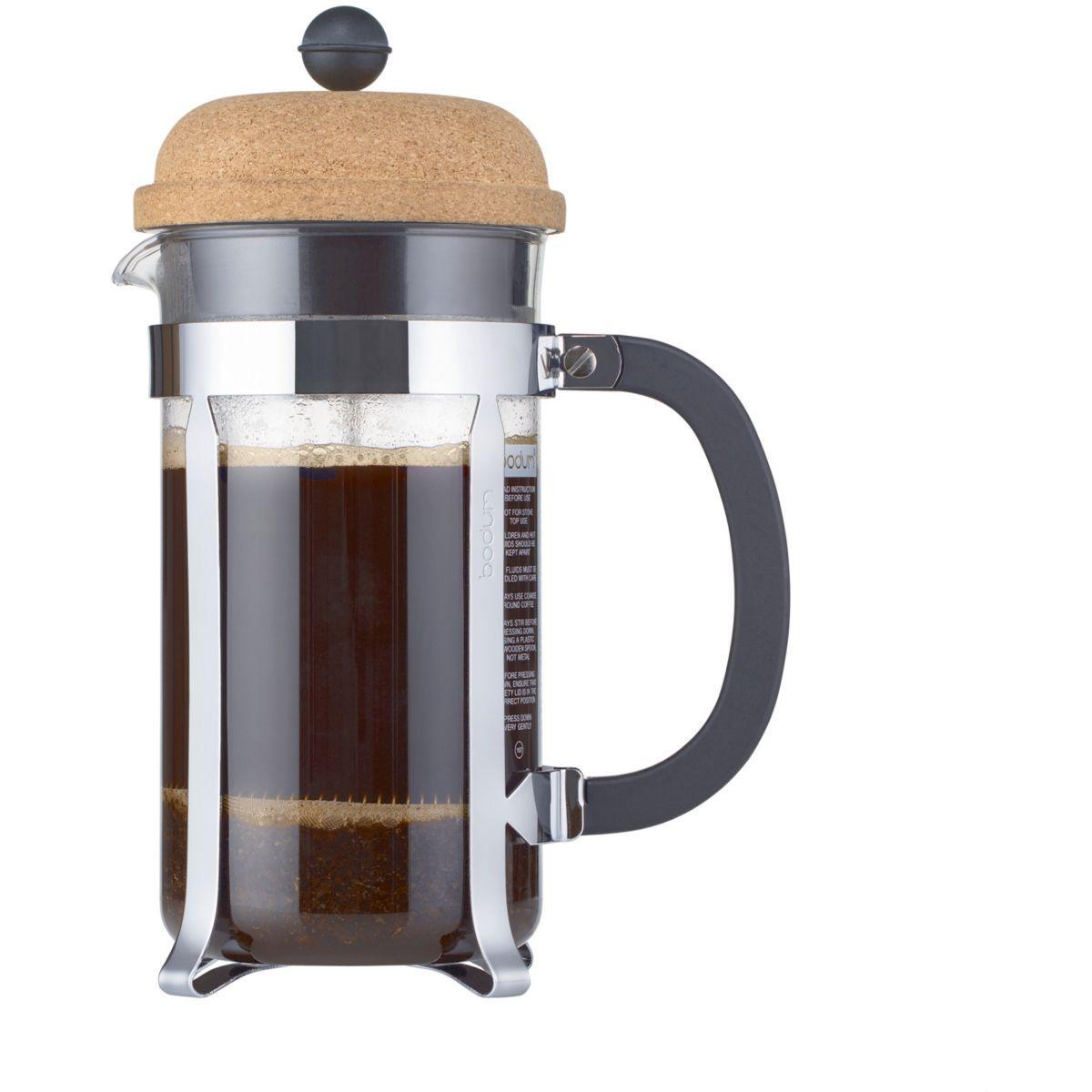 Cafeti�re � piston bodum chambord a piston 8t 1l - couvercle - 15% de remise imm�dia