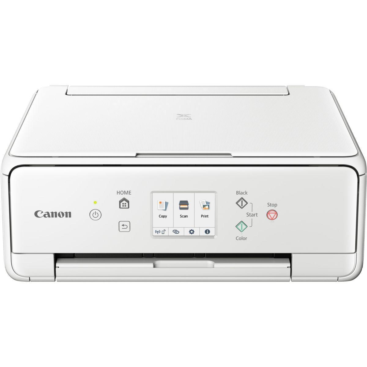 Imprimante jet d'encre canon ts 6251 blanc