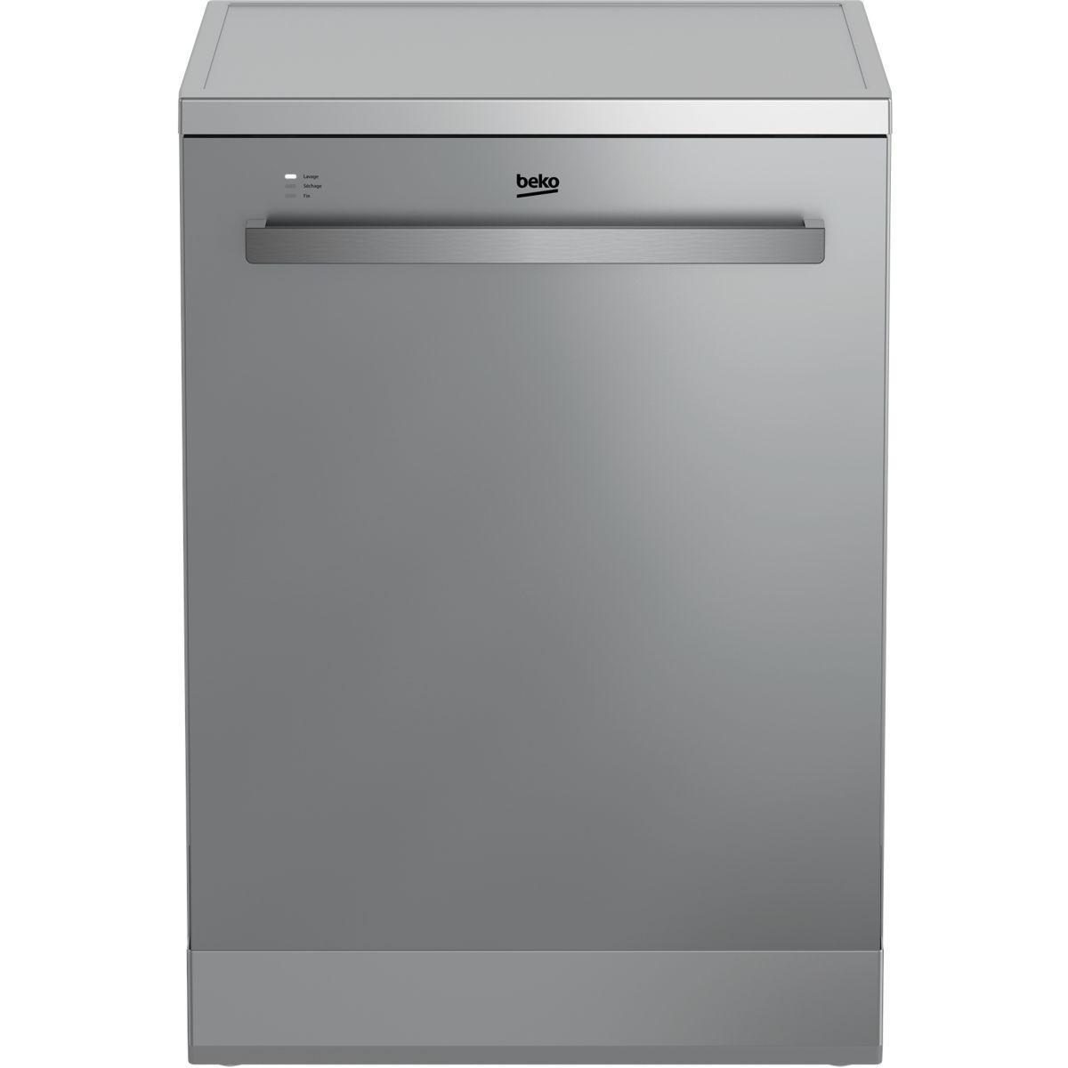 Lave vaisselle 60 cm beko den263b20x - livraison offerte : code livp (photo)
