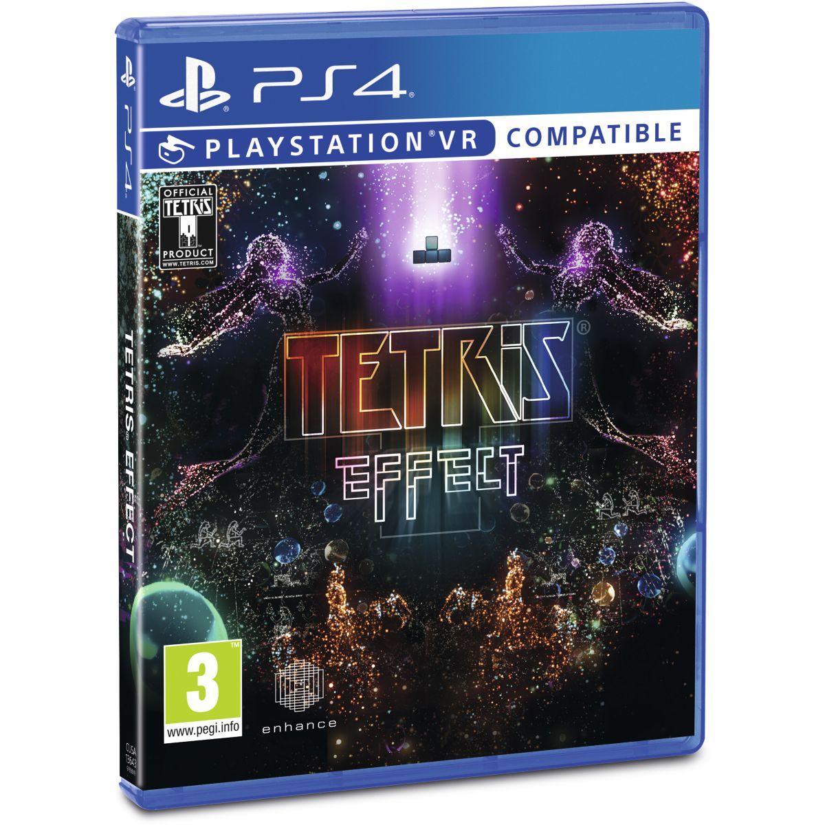 Jeu ps4 sony jeu vr tetris effect (photo)