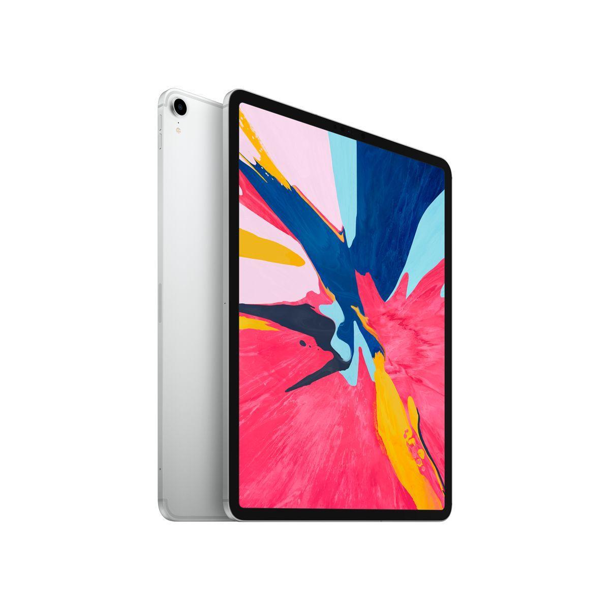 Tablette apple ipad pro new 12.9 cell 256go argent - livraison offerte : code livrelais (photo)