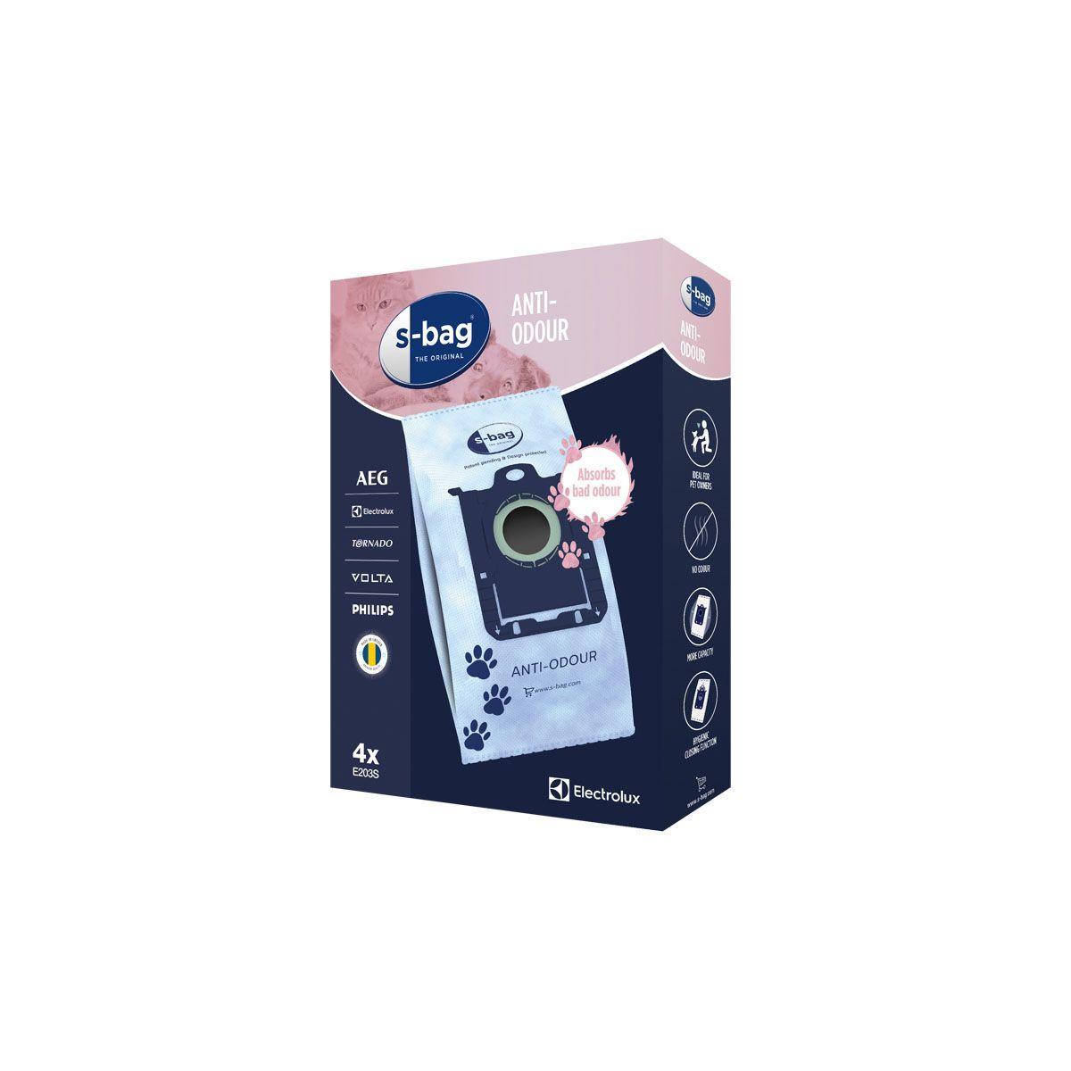 Sac aspirateur electrolux s-bag e203s anti odeurs