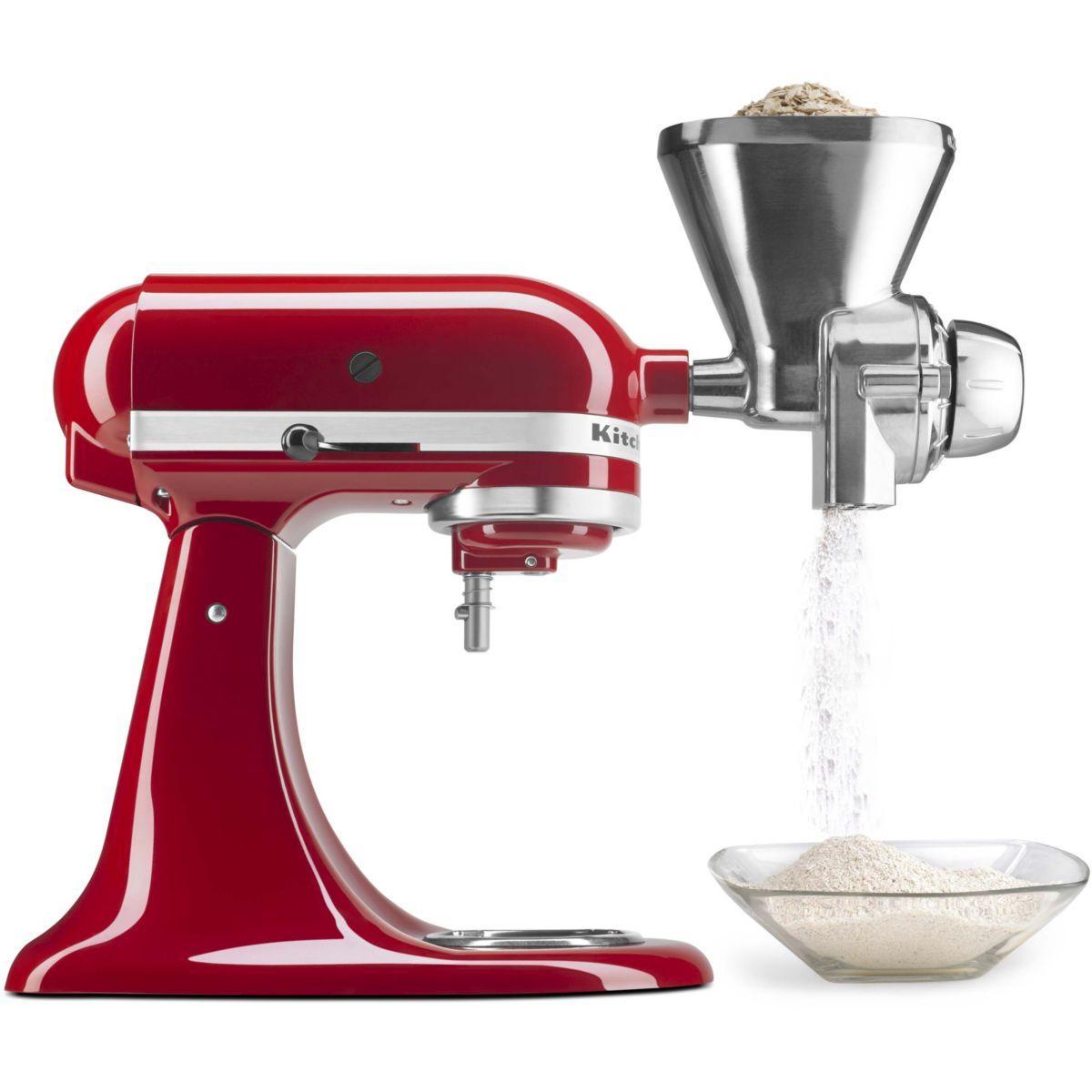 Moulin kitchenaid 5kgm moulin a cereales - livraison offerte :...