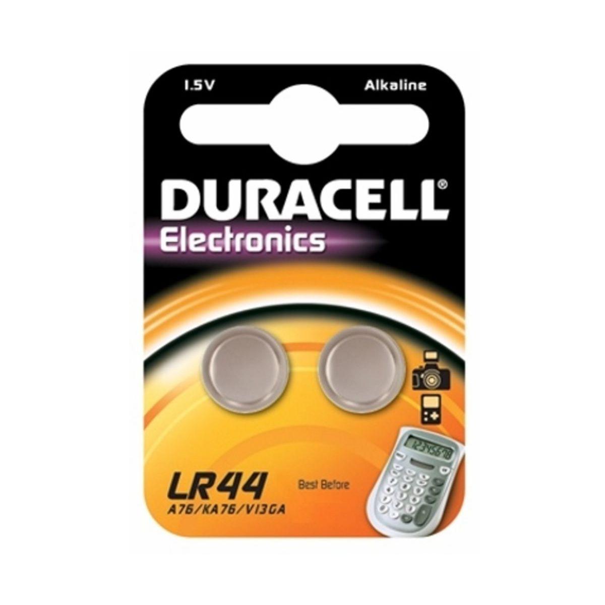 Pile non rechargeable duracell lr44 - a76 x2 (photo)