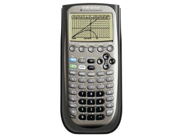 Calculatrice graphique texas instruments ti-89 titanium - 2% de remise imm�diate avec le code : deal2 (photo)