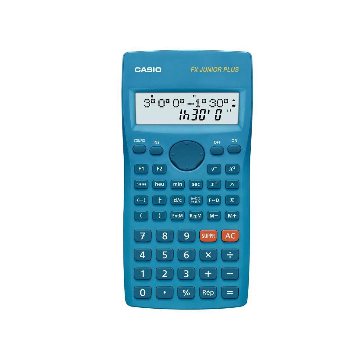 Calculatrice scientifique casio fx junior plus (photo)